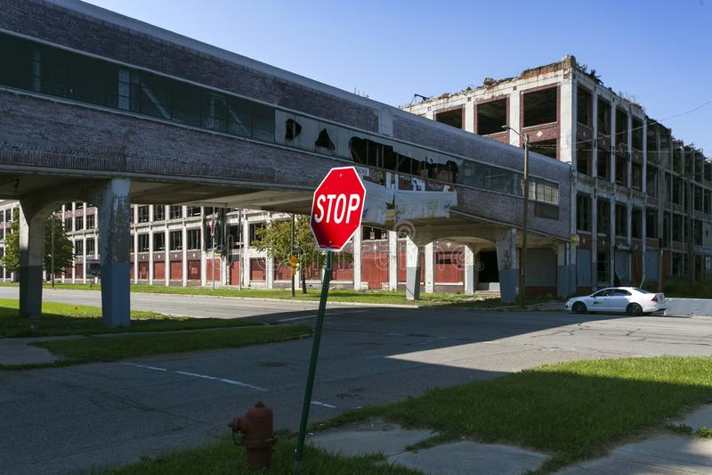 LOS E.E.U.U. - Michigan - Detroit fotografía de archivo libre de regalías