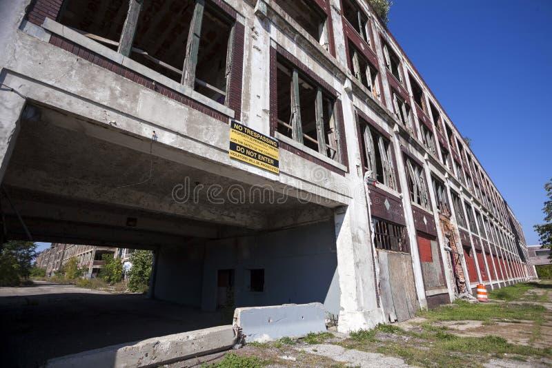 LOS E.E.U.U. - Michigan - Detroit fotografía de archivo