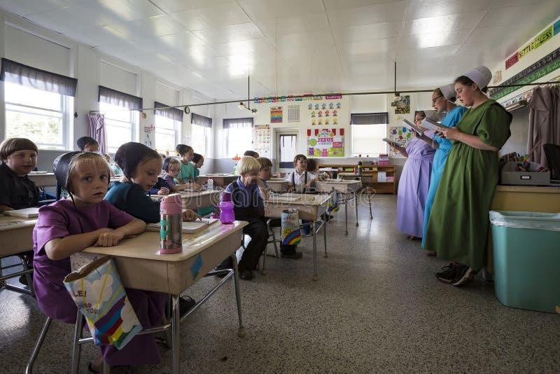 LOS E.E.U.U. - Ohio - Amish imágenes de archivo libres de regalías