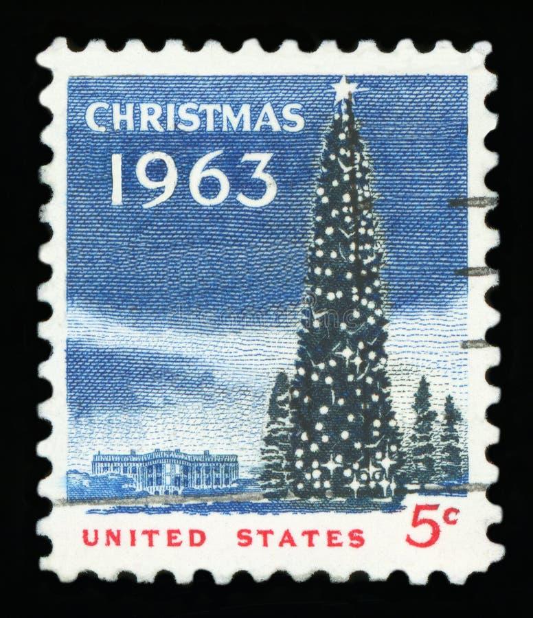 LOS E.E.U.U. - Sello de Postge foto de archivo libre de regalías