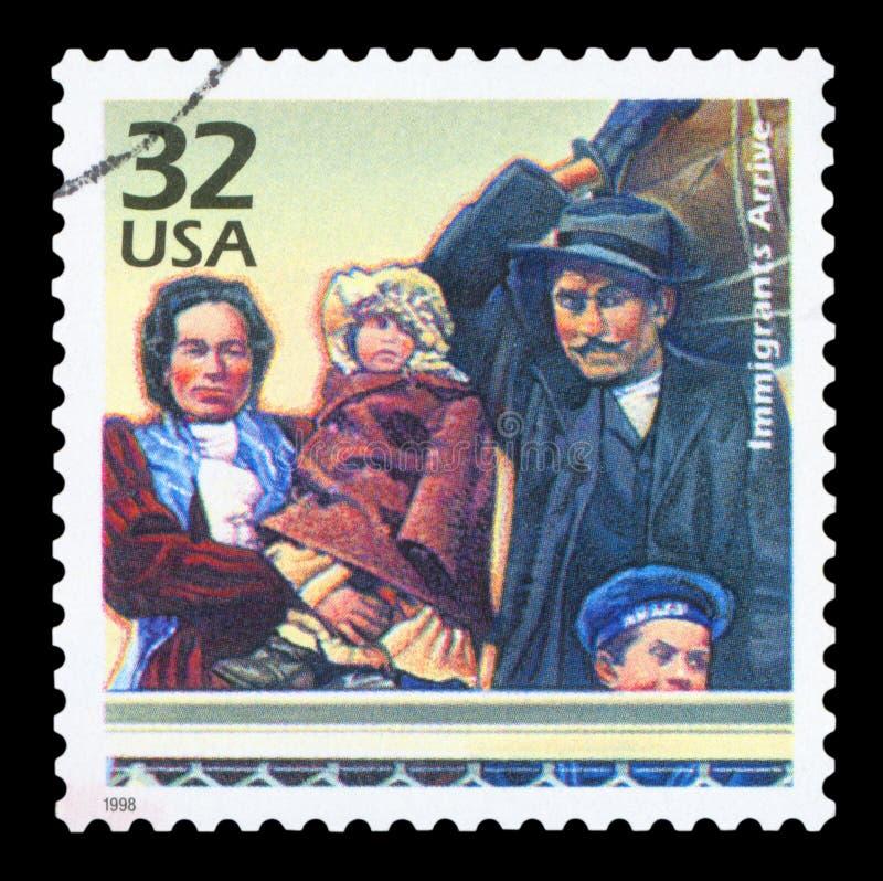 LOS E.E.U.U. - Sello imagen de archivo libre de regalías