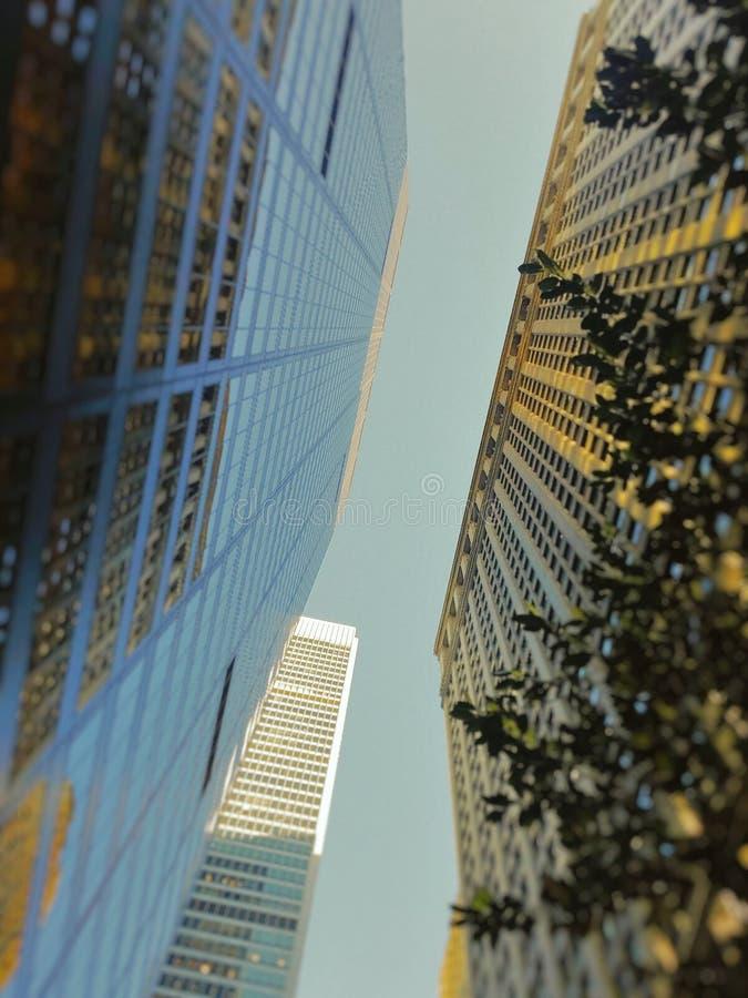 Los Edificios stock image