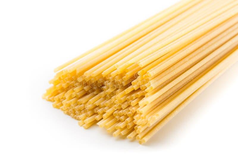 Los espaguetis italianos sacaron a través del bronce fotografía de archivo