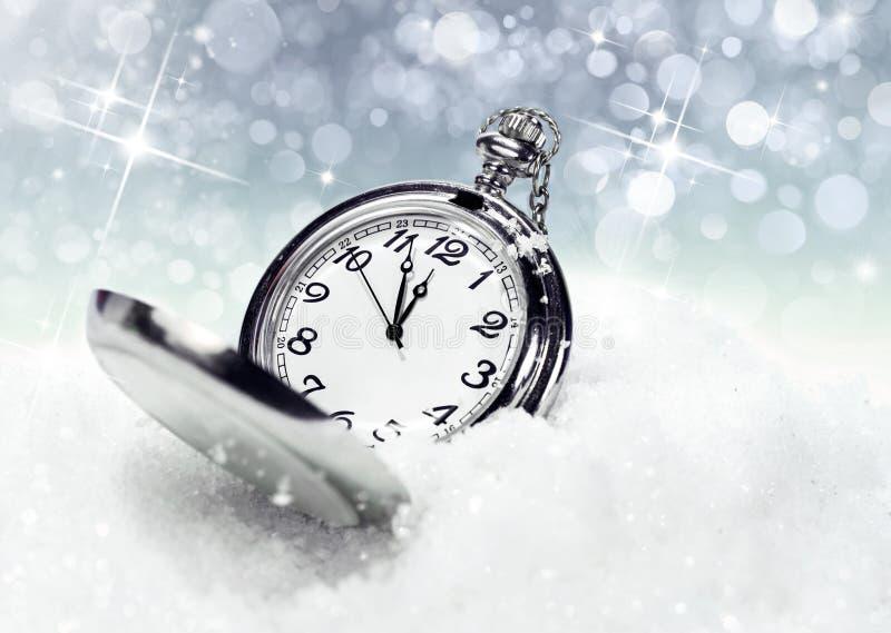 Los fondos del Año Nuevo foto de archivo libre de regalías