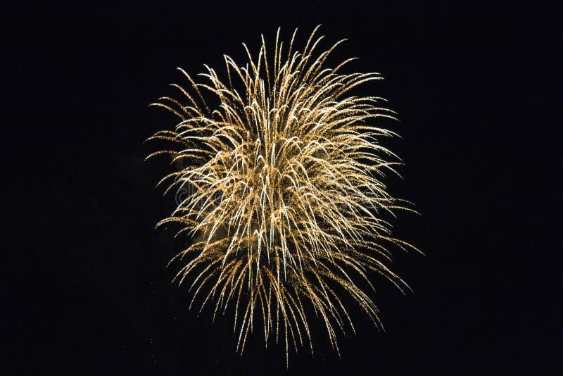 Los fuegos artificiales exhiben el la noche 2, Rottingdean, East Sussex, Reino Unido del contrabandista foto de archivo libre de regalías