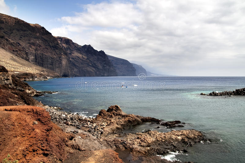 Los Gigantes royalty free stock photography