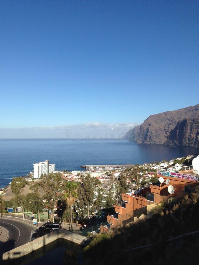 Los gigantes przy Tenerife obraz royalty free