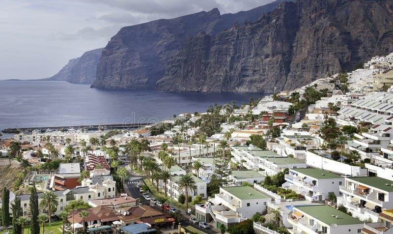Los Gigantes su Tenerife fotografie stock