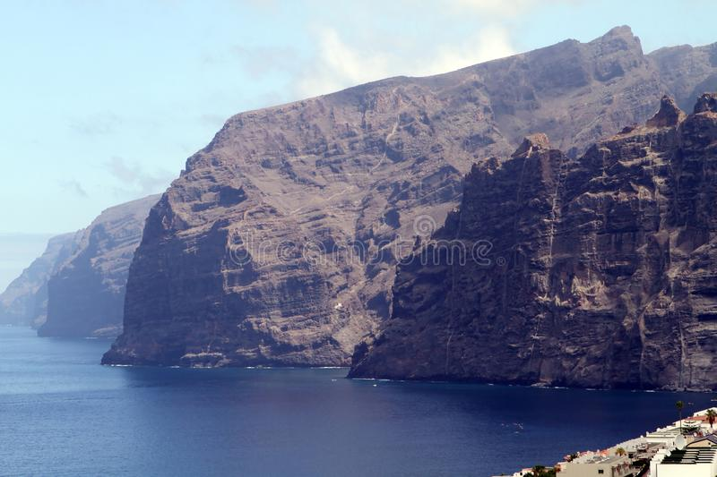 Los Gigantes, Tenerife royalty free stock images