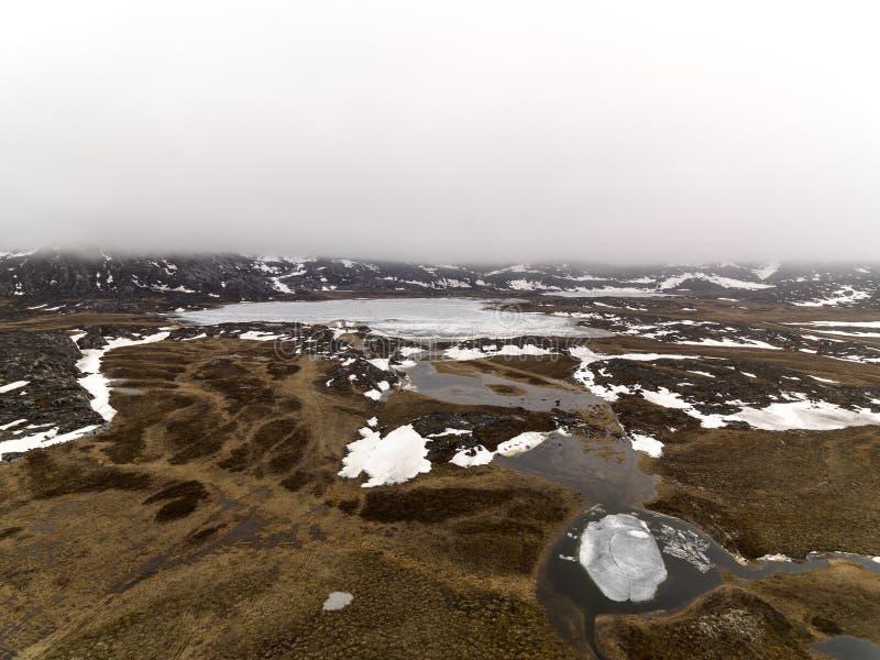 Los glaciares están derritiendo en el icefjord de la Groenlandia En mayo de 2016 foto de archivo