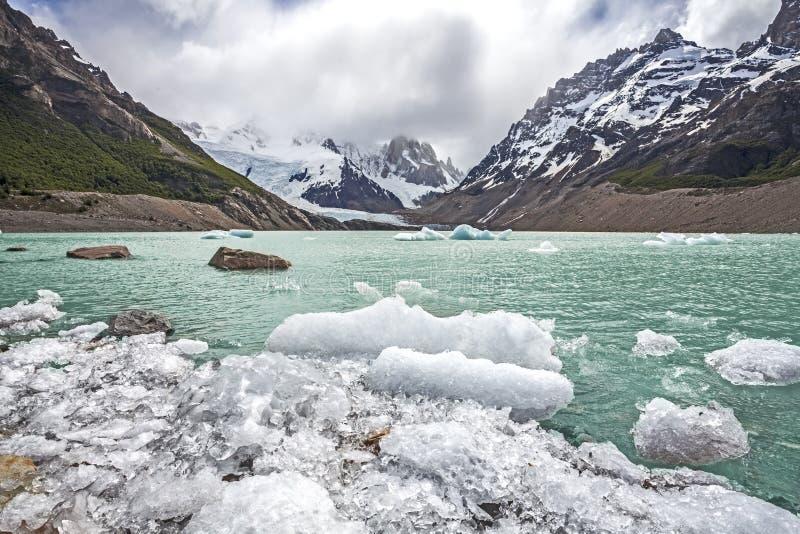 Los Glaciares park narodowy w Argentyna. obrazy royalty free
