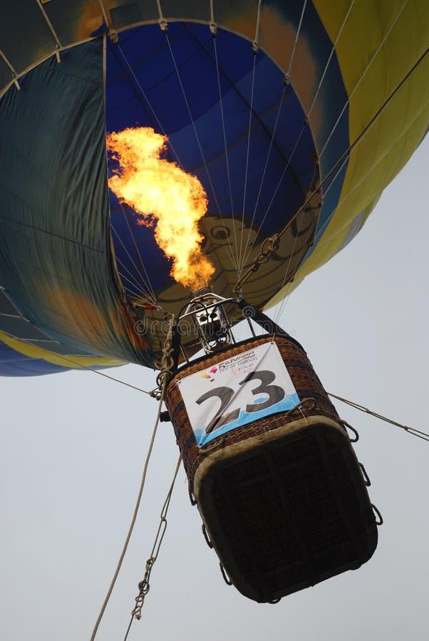 5to Fiesta internacional 2013 del impulso del aire caliente de Putrajaya imagenes de archivo