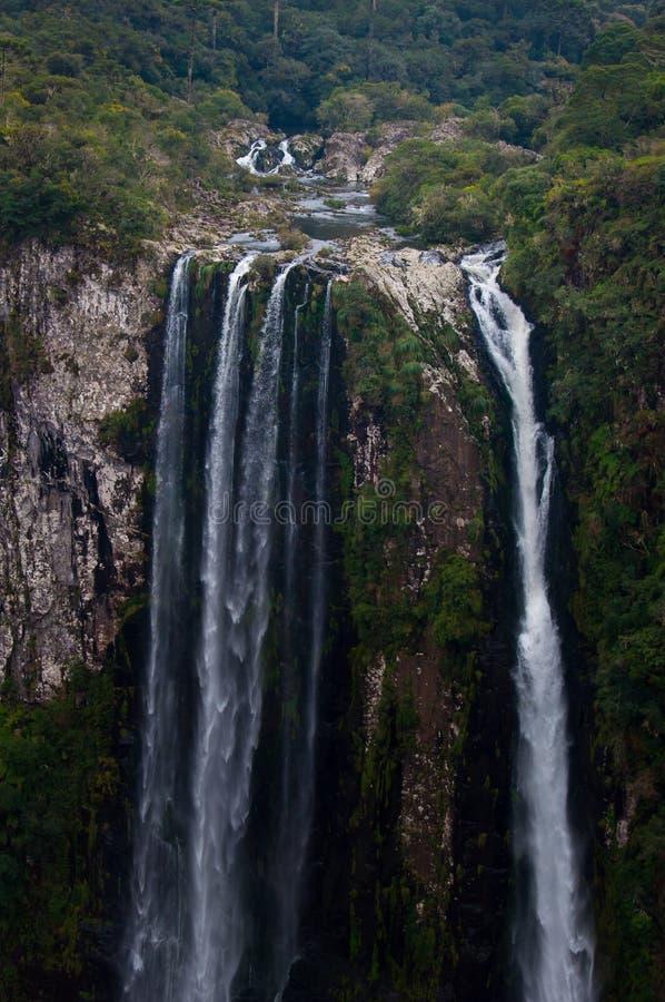 Los Granes Cañones de Itaimbezinho en Rio Grande hacen Sul, el Brasil imagen de archivo