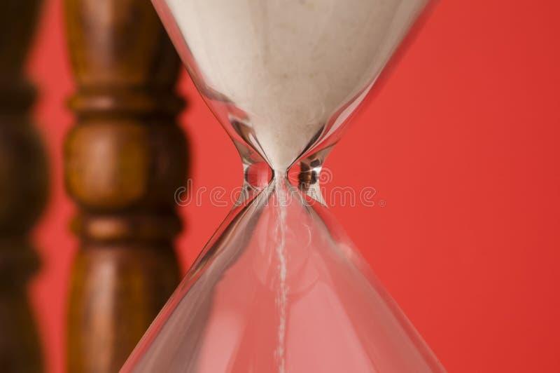Los granos del tiempo foto de archivo