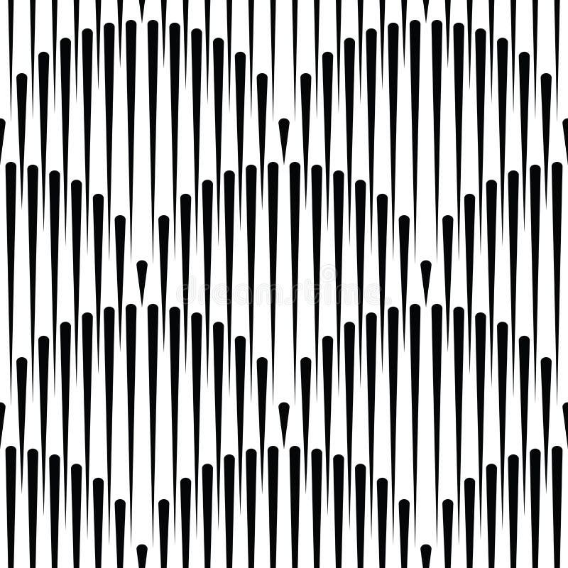 Los japoneses agitan el modelo inconsútil, las líneas inconsútiles imprimen, geométrico stock de ilustración