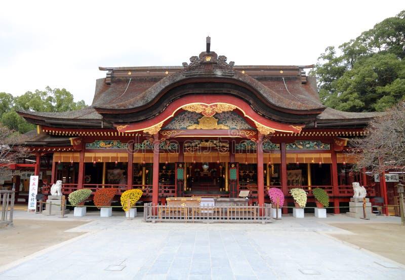 Los japoneses shrine en Kyushu, Japón foto de archivo libre de regalías