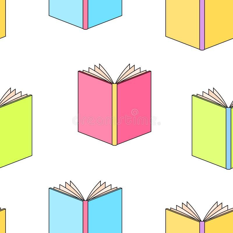 Los libros modelan inconsútil libre illustration
