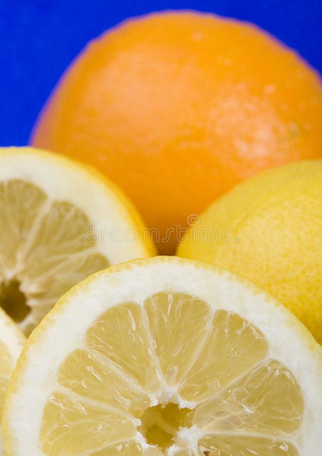 Los limones foto de archivo