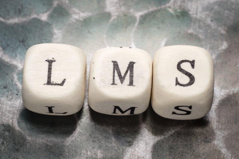 Los lms de la palabra imagenes de archivo