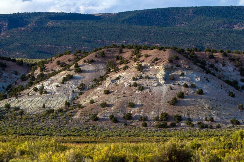 Los marrones parquean la formación en marrones parquean NWR en Colorado fotos de archivo libres de regalías