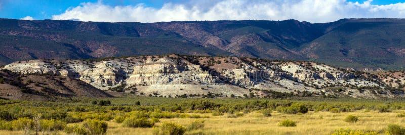 Los marrones parquean la formación en marrones parquean NWR en Colorado imagen de archivo libre de regalías