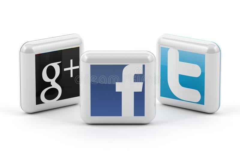 Medios sociales libre illustration
