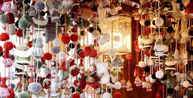 Los mercados imagen, la Navidad de la Navidad comercializan la imagen, la Navidad comercializan la visión imágenes de archivo libres de regalías