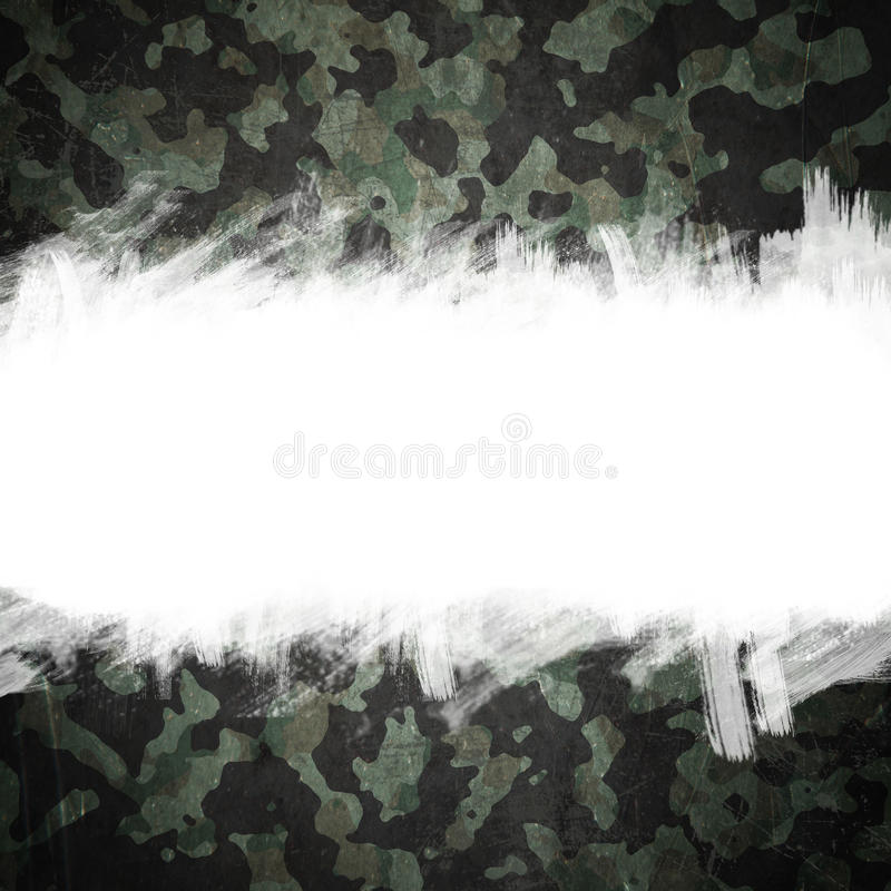 Los militares del Grunge camuflan el fondo con el espacio para el texto libre illustration