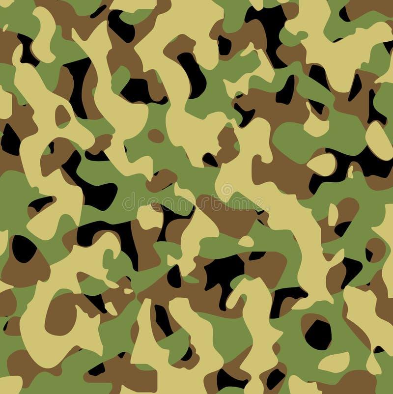 Los militares del vector modelan stock de ilustración