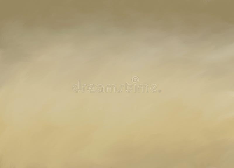 Los movimientos abstractos de la brocha de Brown texturizaron el fondo foto de archivo
