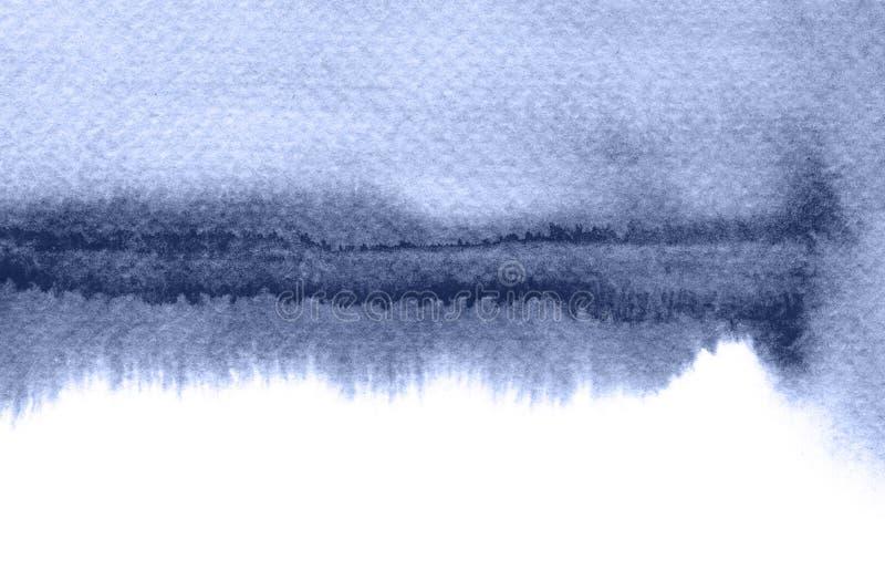Los movimientos abstractos del cepillo de la acuarela pintaron el fondo PA de la textura libre illustration