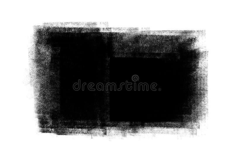 Los movimientos gráficos del cepillo de los remiendos del color diseñan el elemento del efecto para los vagos ilustración del vector