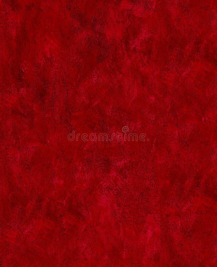Los movimientos rojo oscuro de la pintura texturizan abstracto fotografía de archivo libre de regalías