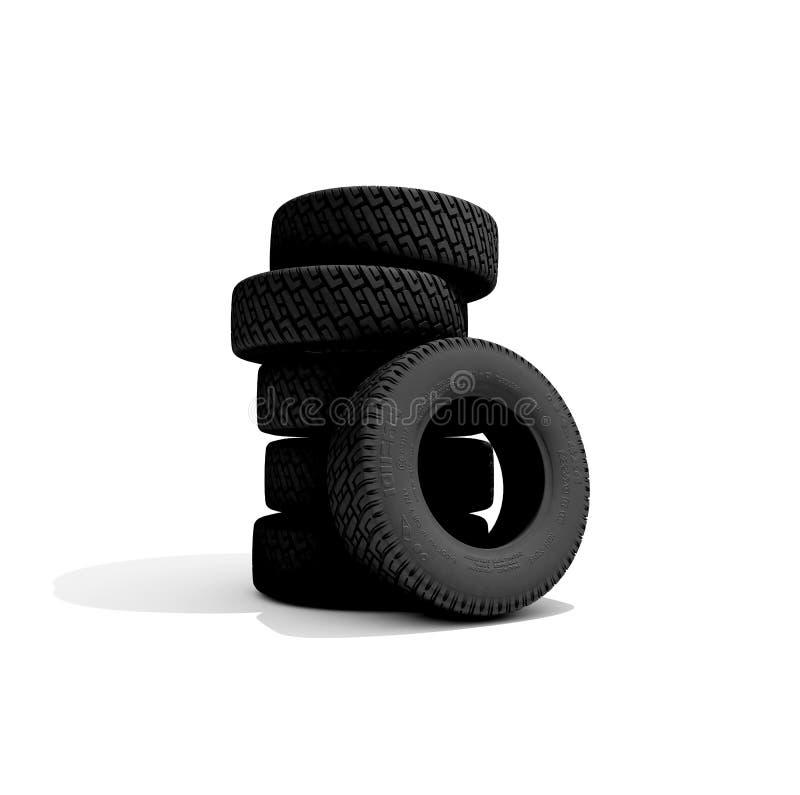 Los neumáticos libre illustration