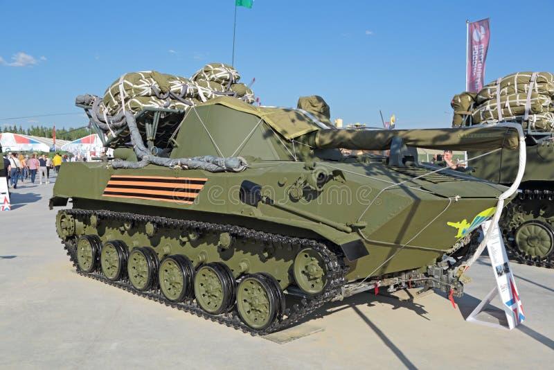 Los Nona-s - artillería automotora foto de archivo