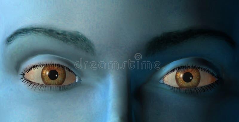 Los Ojos Fotos de archivo