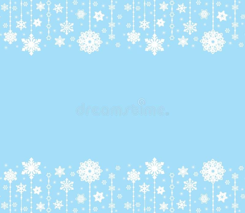 Los ornamentos abstractos de la Feliz Navidad diseñan, las decoraciones de la Navidad Golpeteo inconsútil Sistema del vector Fond libre illustration