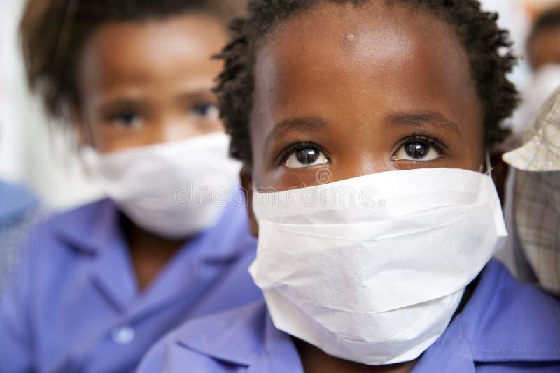 Los pacientes de los niños de la TB fotografía de archivo