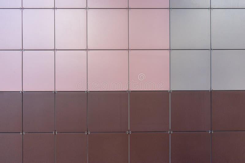 los paneles compuestos de aluminio del revestimiento, protección del recurso, material para el aislamiento de las paredes, tejas  fotografía de archivo