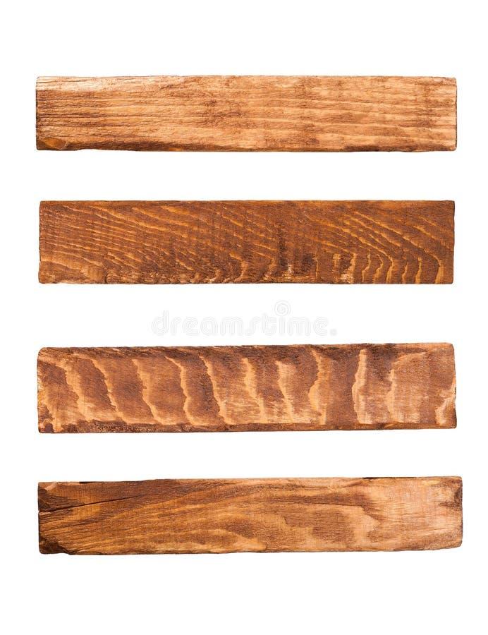 Los paneles de madera imágenes de archivo libres de regalías