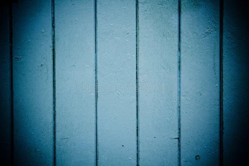 Los paneles de madera azules imagenes de archivo