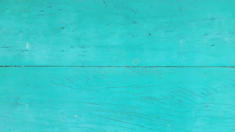 Los paneles de madera del viejo vintage pintados en azul fotografía de archivo libre de regalías