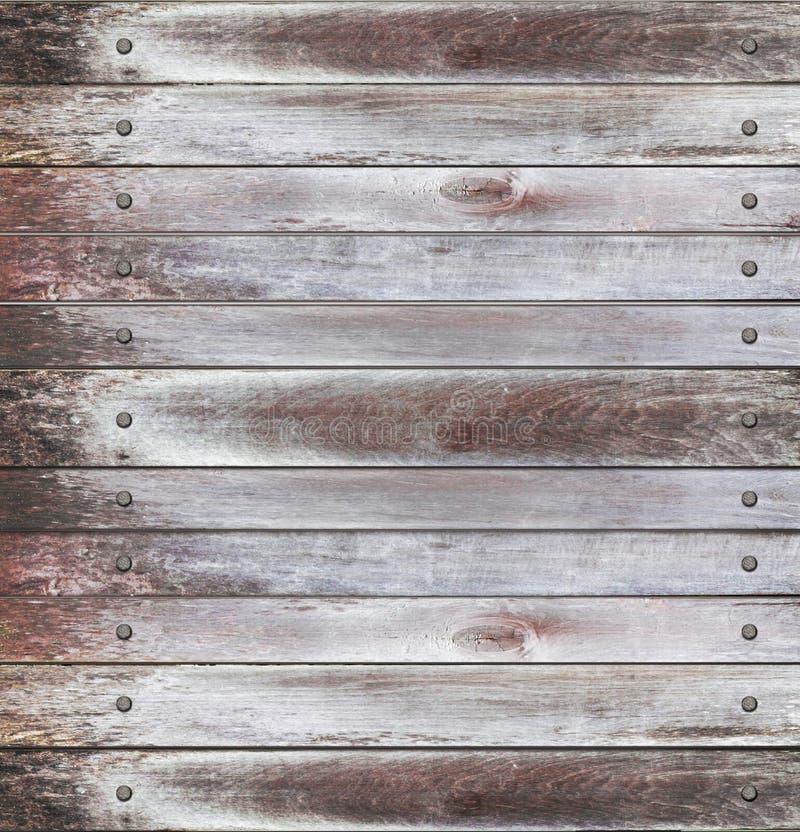 Los paneles de madera viejos imágenes de archivo libres de regalías