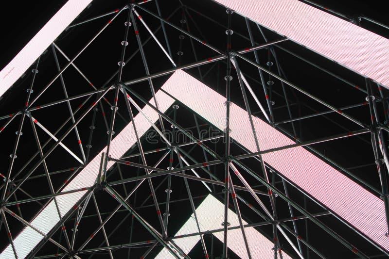Los paneles ligeros abstractos fotos de archivo