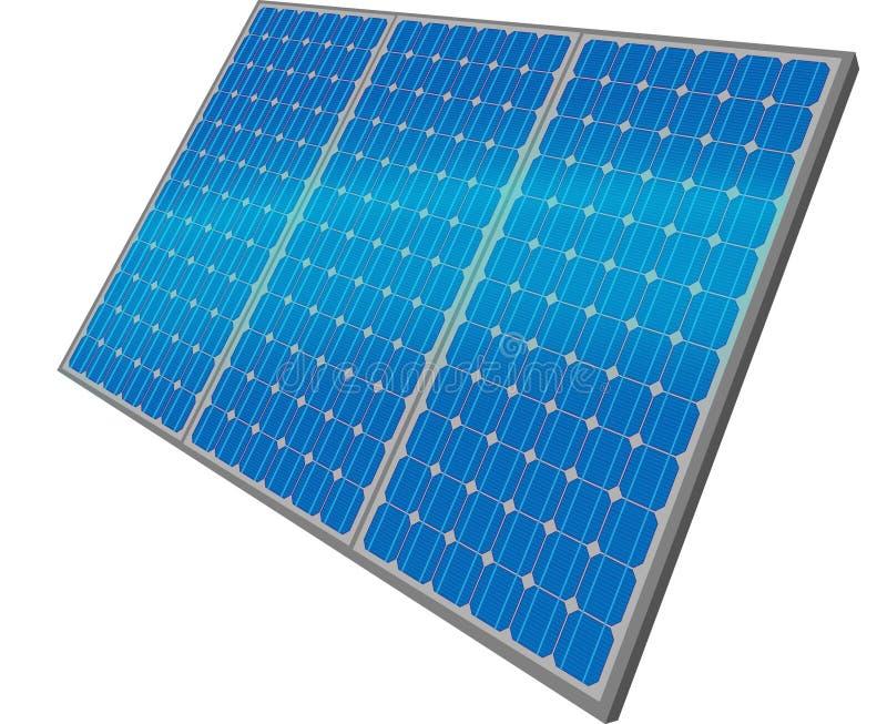 Los paneles solares libre illustration