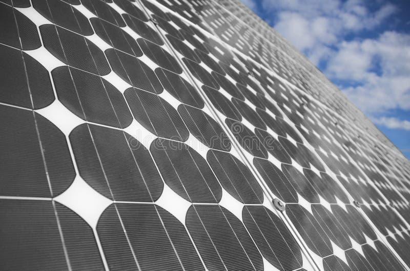 Los paneles solares 2 fotografía de archivo