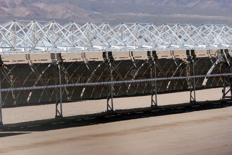 Los paneles solares fotografía de archivo libre de regalías