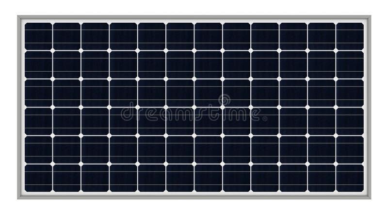 Los paneles solares stock de ilustración