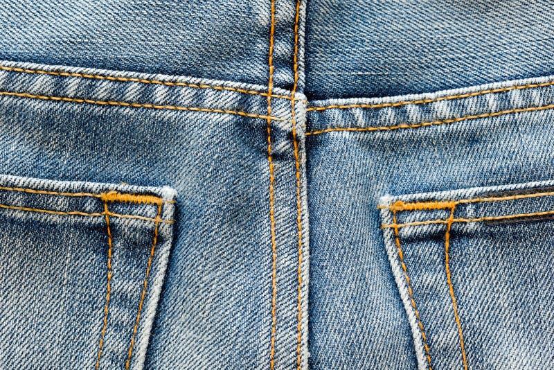 Download Los Pantalones Vaqueros Texture Con La Costura Imagen de archivo - Imagen de textured, tejido: 41900729