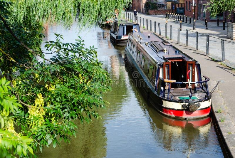 Los pasos del canal de la unión de Shropshire a través de Chester foto de archivo libre de regalías